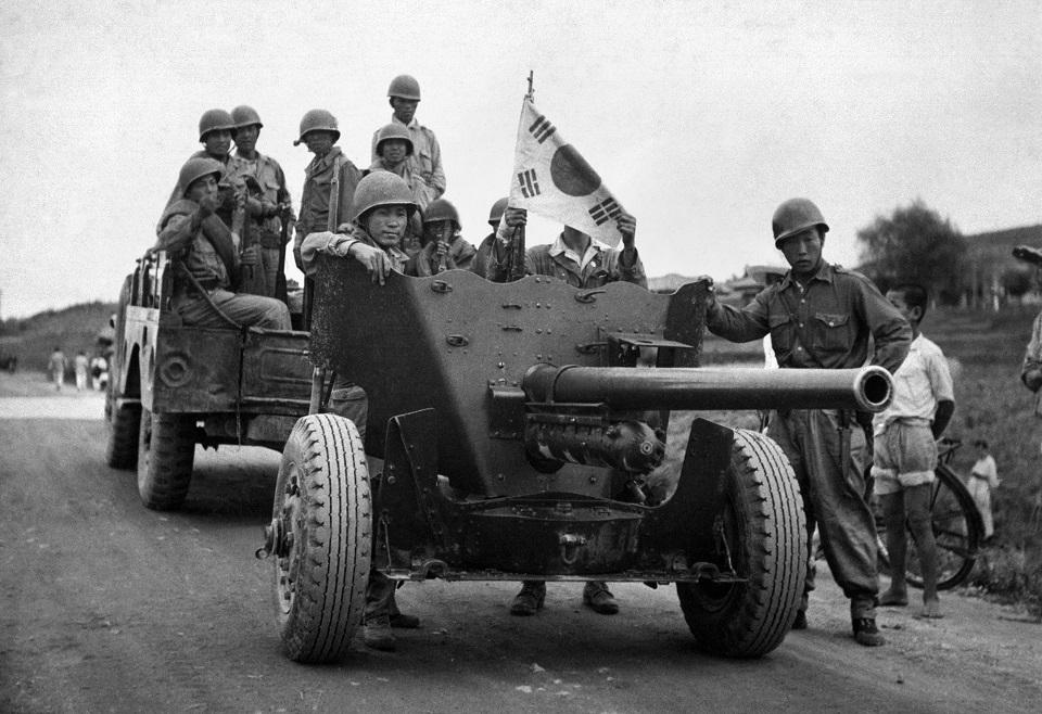 Korean War Aug. 25, 1950