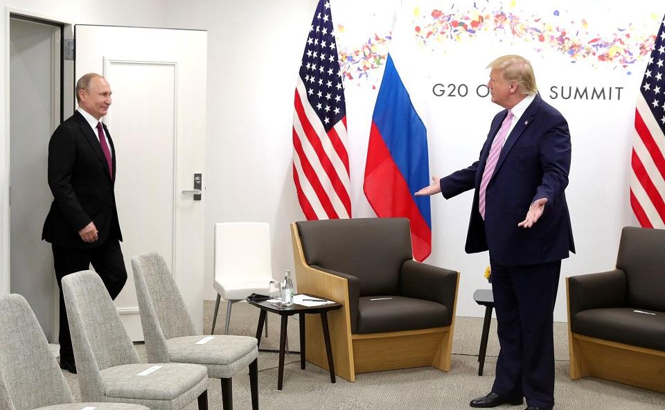 President Putin meeting President Trump